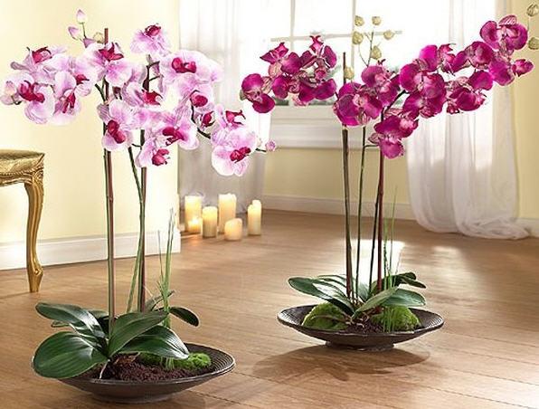 Искусственные цветы для дома купить