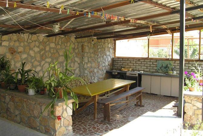 Оформление летней кухни на даче своими руками