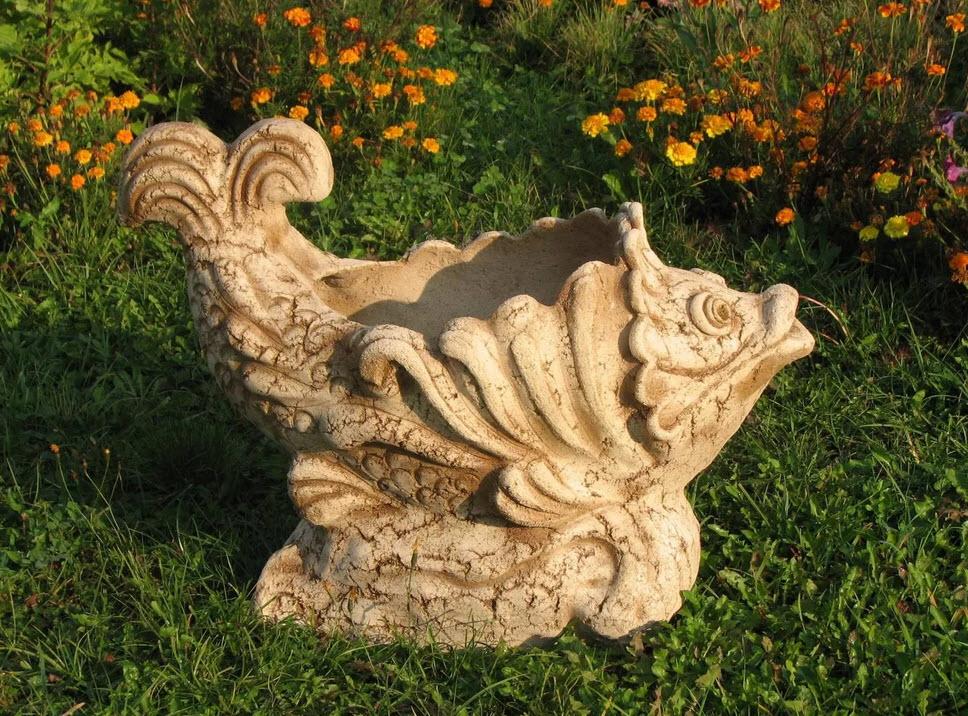 Как своими руками сделать садовую скульптуру 27