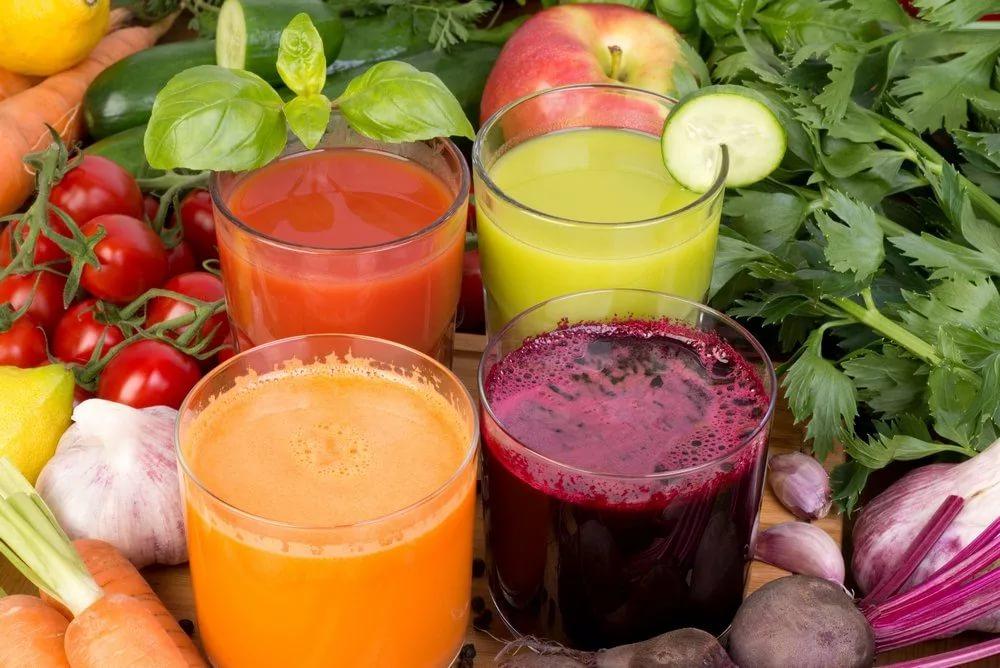 самый полезный овощной сок