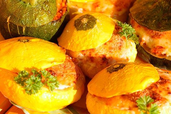 что можно приготовить из патиссонов быстро и вкусно в духовке